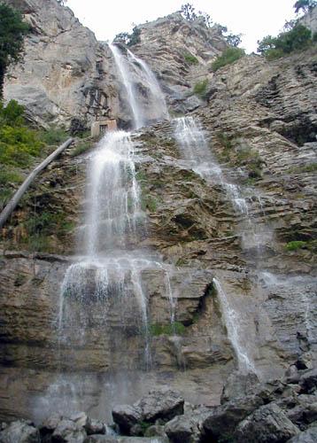 Водопад учан су летучая вода